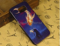 "Чехол-бампер для Samsung Galaxy S6 ""Gold fish"""