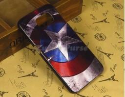 "Чехол-бампер для Samsung Galaxy S6 ""Captain America"""