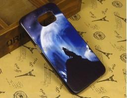 "Чехол-бампер для Samsung Galaxy S6 ""Lone wolf"""
