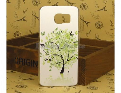 """Бампер для Samsung Galaxy S6 c принтом """"Дерево"""""""