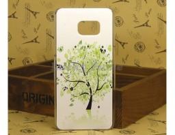"""Чехол-накладка для Galaxy S6 Edge+ """"Tree"""""""