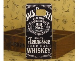 "Чехол-накладка для Galaxy S6 Edge+ ""Jack Daniels"""