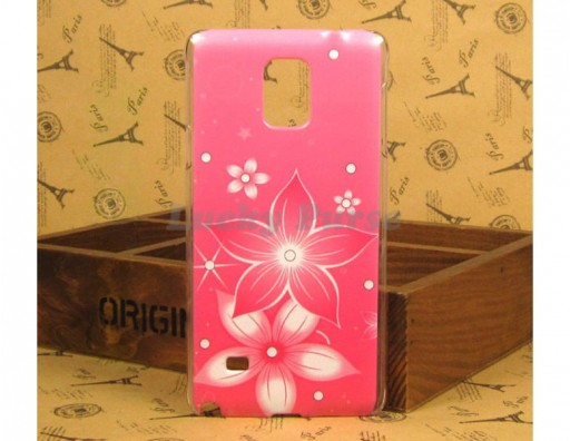 "Чехол для Samsung Galaxy Note 4 ""Розовая вспышка"""