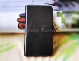 """Универсальный чехол для 5.0""""-5.5"""" смартфонов (черный)"""