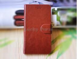 """Универсальный чехол для 5.0""""-5.5"""" смартфонов (коричневый)"""
