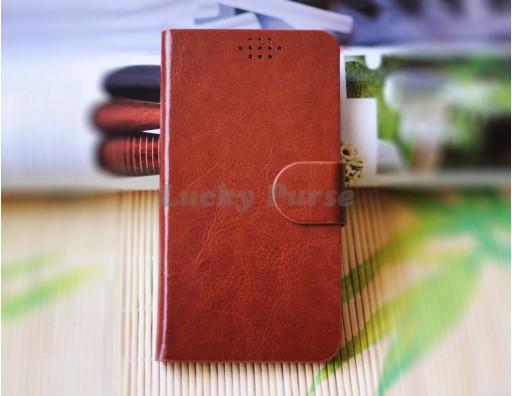 """Универсальный чехол-книжка для 5.0""""-5.5"""" смартфонов с присосками"""