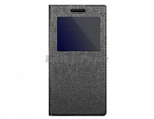 """Универсальный чехол книжка для 4.7""""-5.1"""" смартфонов, черный"""